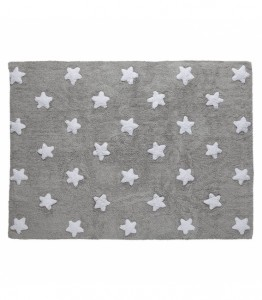 Lorena Canals - Dywan Grey Star White 120x160cm