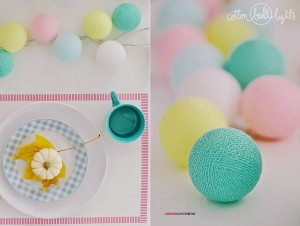 Cotton Ball Lights - Colores de mi alma 10 kul