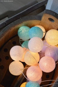 Cotton Ball Lights - Pastel by Pipilota 50 kul