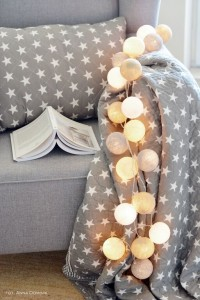 Cotton Ball Lights - by pretty pleasure 35 kul