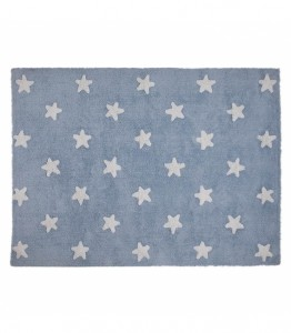 Lorena Canals - Dywan Blue Stars White 120x160cm